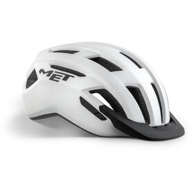 MET Allroad Casco, white matte